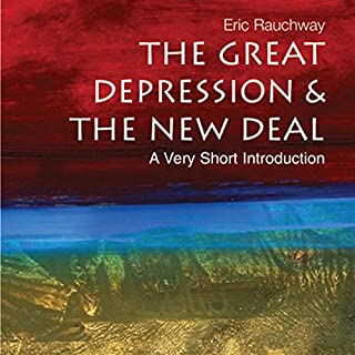 The Great Depression and the New Deal audiobook cover art