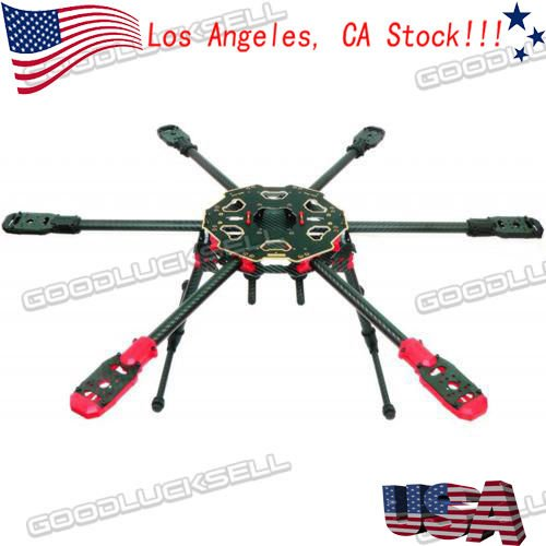Tarot FY680PRO Foldable Hexacopter Carbon Fiber Multirotor Frame Tarot 680 PRO