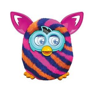 Furby Diagonal Stripes Boom Plush Toy from Furby