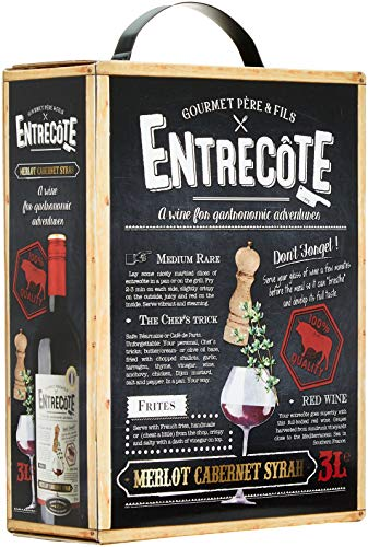 Entrecote Merlot Cabernet Syrah Bag-in-Box 2017/2018 (1 x 3 l)