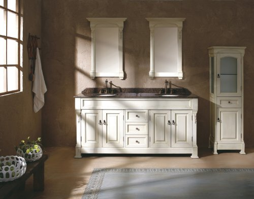 James Martin Furniture Double Cabinet Vanity, 72-Inch, Cottage