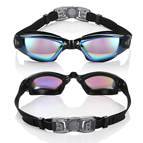 Aegend Anti Fog Open Water Swimming Goggles