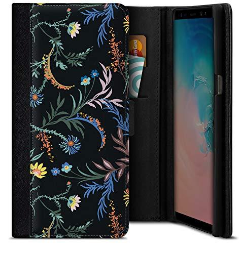 Funda con Tapa Woodland Spring Floral para Samsung Galaxy S9 Plus