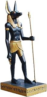 エジプト王国の置物像、アヌビスの装飾品古代エジプトエジプトの神像ホルスの守護聖人のお土産,8.5*12.5*29.5