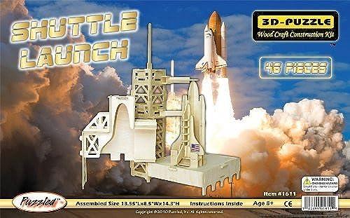 diseño simple y generoso Puzzled, Inc. 3D Natural Wood Puzzle - - - Shuttle Launch by Puzzled, Inc.  n ° 1 en línea