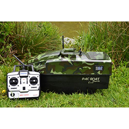 ANATEC Starter PAC Bait Boat - fantastic compact bait boat for Carp Fishing
