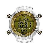 Watx & Colors Reloj Analog-Digital para Mens de Automatic con Correa en Cloth S0311958