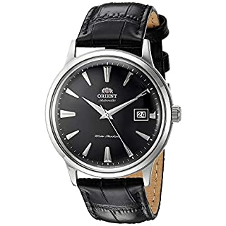 Orient Reloj Analógico para Unisex Adultos de Automático con Correa en Cuero FAC00004B0 (B074CSGVHT) | Amazon price tracker / tracking, Amazon price history charts, Amazon price watches, Amazon price drop alerts
