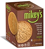 Paleo Bread, English Muffins, Original Flavor, 4 Per Box (2 Pack)