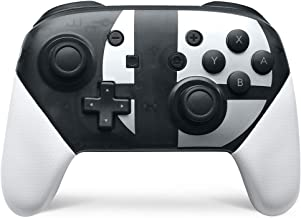 Switch pro Controller,Wireless Controller Compatible for Nintendo Switch Support Gyro Axis Dual Shock (Black & White)