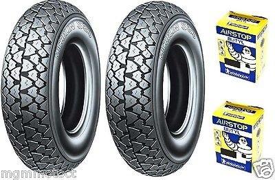 Par neumáticos neumáticos Michelin S833.501059J + cuartos de aire Piaggio PX 125