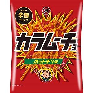 """湖池屋 スティックカラムーチョ ホットチリ味 105g×12袋"""""""