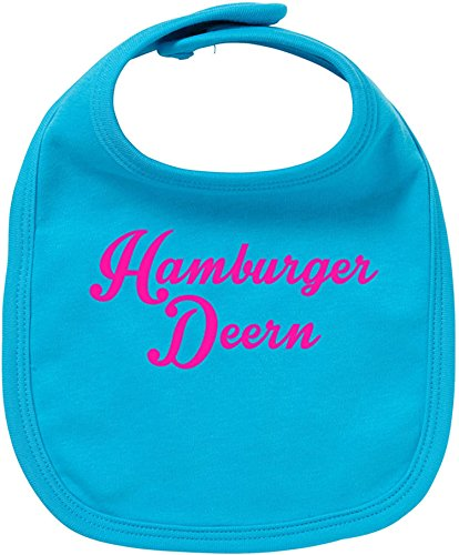 EZYshirt® Hamburger Deern Baby Lätzchen Halstuch