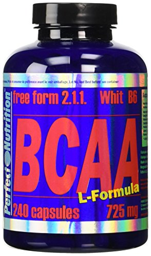 Perfect Nutrition  BCAA Free Form 2.1.1. , BCAA - 750Mg - 240 Caps