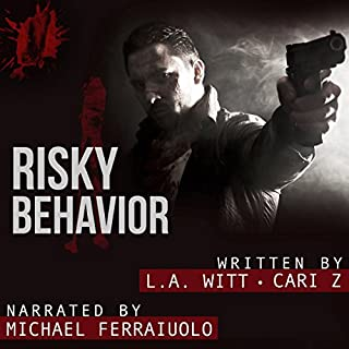 Risky Behavior audiobook cover art