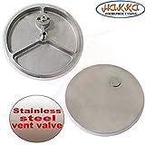 Hakka 11 Lb/5 L Sausage Stuffer 2 Speed Stainless Steel Vertical Sausage Maker