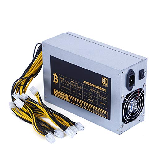 Yuui 1800 W Bitcoin Mining Machine 12 V Alimentation pour BTC ETH Antminer S7 S9 D3
