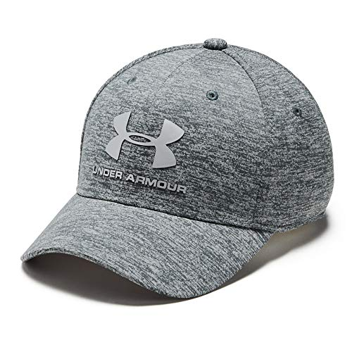 Under Armour Jungen Kappe Twist Classic, Pitch Grey (012)/Metallic Silver, Youth XS/S