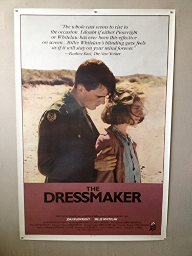 THE DRESSMAKER - 27x41 Original Movie Poster One Sheet ROLLED RARE 1988