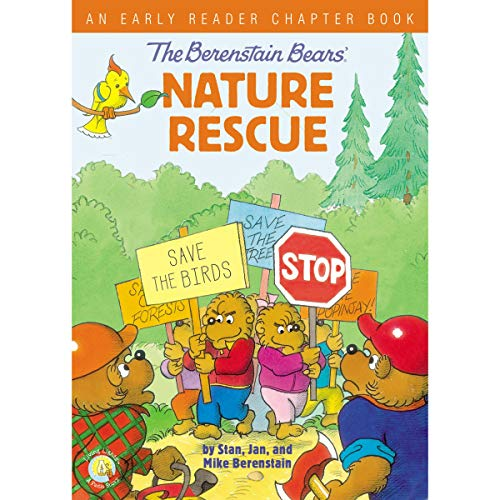 The Berenstain Bears' Nature Rescue audiobook cover art