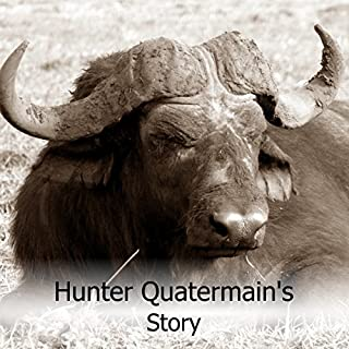 Hunter Quatermain's Story audiobook cover art