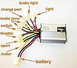 L-faster 36 V48 V 1000 Watt Roller Pinsel Motor Controller Motor Controller Für Dreirad Roller Gebürstet Controller (36V1000W)