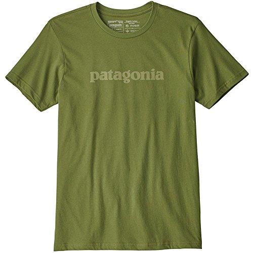 Patagonia M's Text Logo Organic T-Shirt - Camiseta Hombre