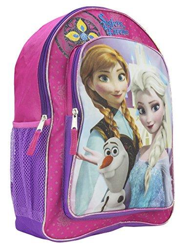 Disney Licensed Frozen Princess Elsa and Anna School Backpack BAG