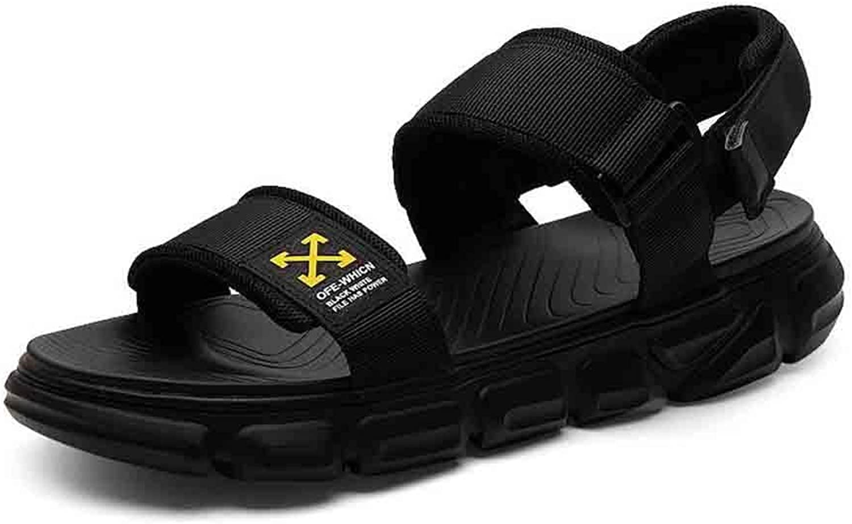 WYYY Schuhe Sandalen Herren Freizeitmode Strandschuhe Bequeme Coole Turnschuhe (Farbe   schwarz, Größe   EU 40 UK 6.5 CN 40)