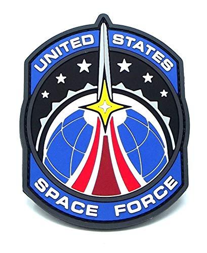 Milspec Space Force Morale PVC Patch - Full Color