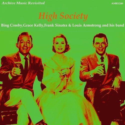 Bing Crosby, Grace Kelly, Frank Sinatra & Louis Armstrong
