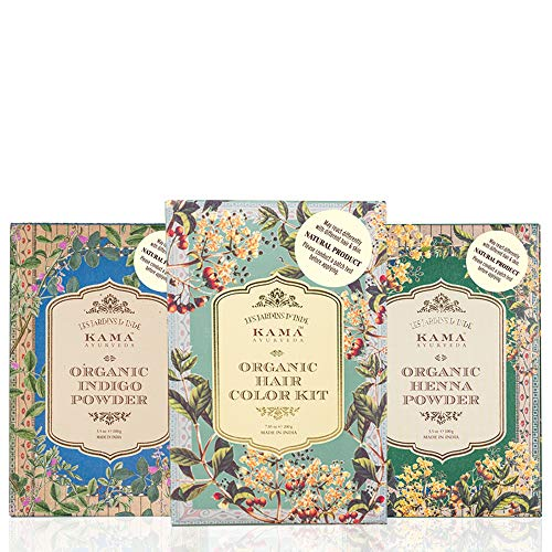 Kama Ayurveda Natural Organic Hair Color Kit