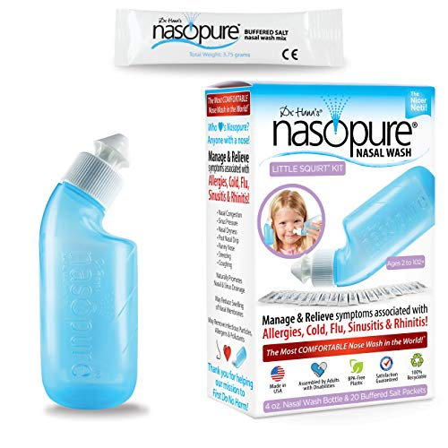 "Dr. Hana's Nasopure ""The Nicer Neti Pot"" for Kids 