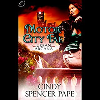 Motor City Fae audiobook cover art