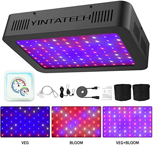 Yintatech 1000W LED Grow Light, Growing Lamp Full Spectrum for Indoor Hydroponic Greenhouse Plants...