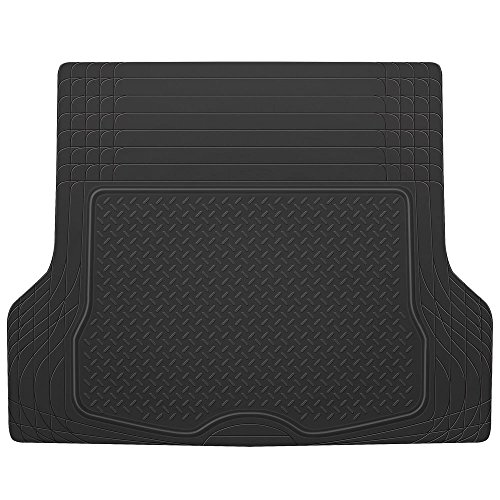 w//Traction Grips /& Fresh Design Motor Trend Premium FlexTough All-Protection Cargo Mat Liner