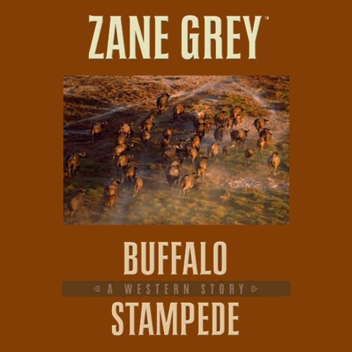 Buffalo Stampede audiobook cover art