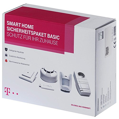 Telekom 99922214 Smart Home Use Case Sicherheit, Weiß