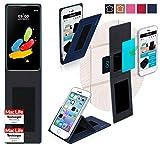 reboon Hülle für LG Stylus 2 (DAB+) Tasche Cover Case Bumper | Blau | Testsieger