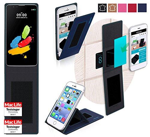 reboon Hülle für LG Stylus 2 (DAB+) Tasche Cover Case Bumper   Blau   Testsieger