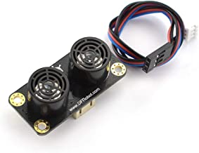 Gravity: URM09 Ultrasonic Sensor for Fast Ranging, Obstacle Avoidance Applications, Temperature Compensation and Analog Output - 2-500cm Measuring Range, Compatible with Arduino and Raspberry Pi
