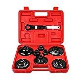 21 PCS Kit di attrezzi per riparazioni antivento del compressore a pistone con pinza freno...