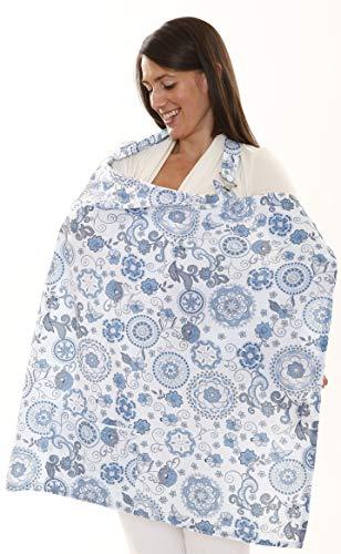 My Brest Friend Nursing Cover, Starry, Sky Blue
