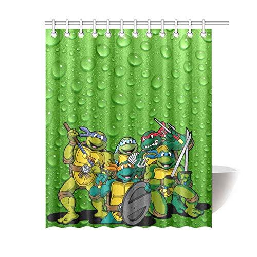 Zellspirale Close-up Duschvorhang Badezimmer Dekor Stoff und 12hookses