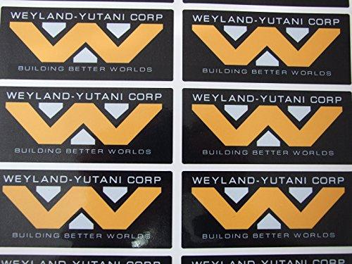 Weyland Yutani corporation, Vinyl, selbsthaftend, Motiv Alien Aliens 3-2