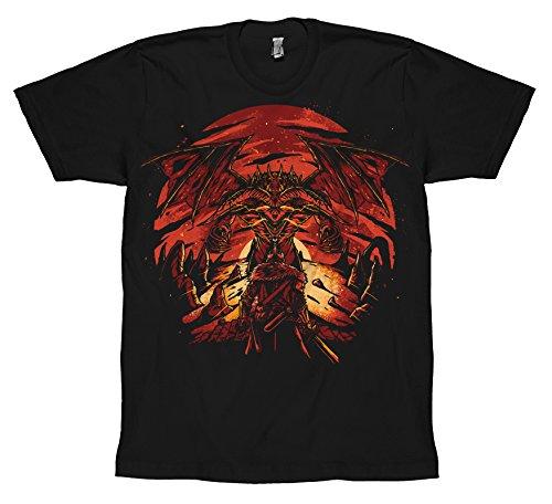 Dark Souls 3 T-Shirt Dragon, Größe XXL