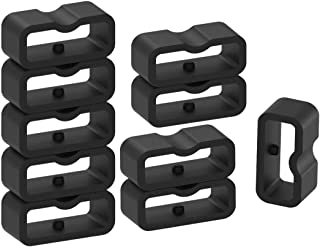 Fastener Rings Compatible with Fitbit Inspire 2 Inspire Inspire HR ACE 2 Bands(Pack of 11) Rubber Rings Holder Keeper Reta...