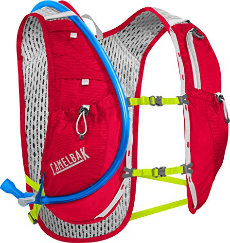 CamelBak Circuit Vest 50 oz Hydration Pack, Crimson Red/Lime Punch