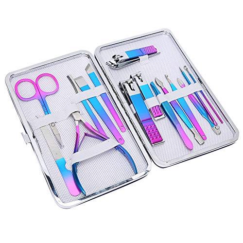 Kit de manicura y pedicura, de alta calidad, duradero, adecuado para un juego de cortaúñas rápido, fácil de llevar, tienda de salón, salón de belleza, tienda de manicura para el hogar