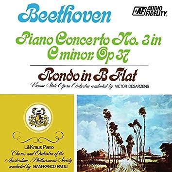 Piano Concerto No. 3 in C minor Op 37 / Rondo In B Flat